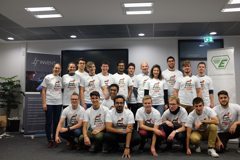 Gruppenbild der FoWo-Teilnehmer